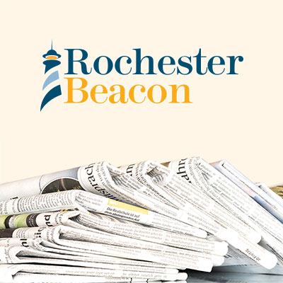 A logo for an online non-profit newspaper startup based in Rochester.