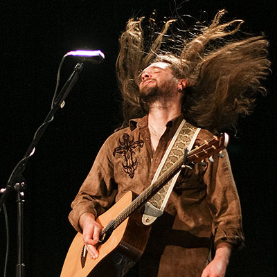 Bo Bice playing a show in Stroudsburg, PA.