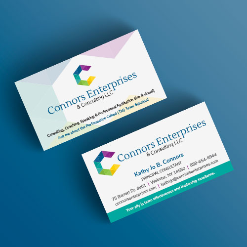 Connors Enterprises & Consulting LLC business cards