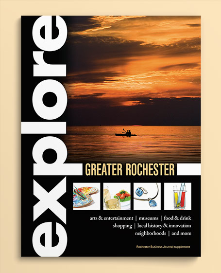 Explore Greater Rochester cover