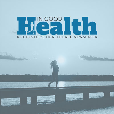 A redesigned logo / masthead for a heath publication that publishes four different editions in Upstate New York.