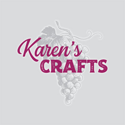 A logo designed for a friend who sells handmade lighted bottles and trees at Rochester-area craft fairs.
