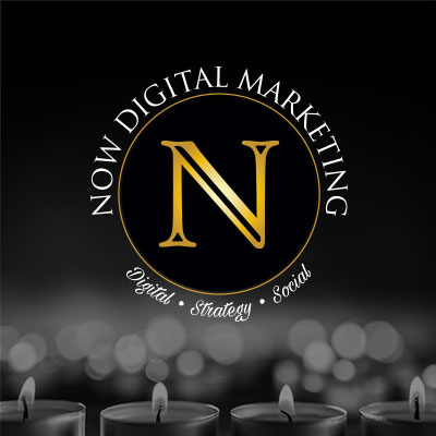 A logo for a digital marketing firm that specializes in funeral homes.