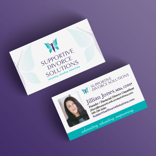Supportive Divorce Solutions business cards
