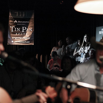 A songwriter round at Tin Pan South.